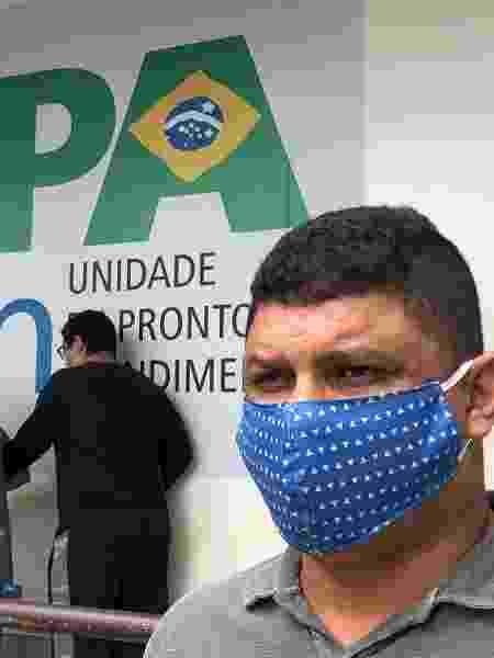 13.abr.2020 - Com foco de covid-19, Duque de Caxias (RJ) tem fila em UPA - Herculano Barreto Filho/UOL