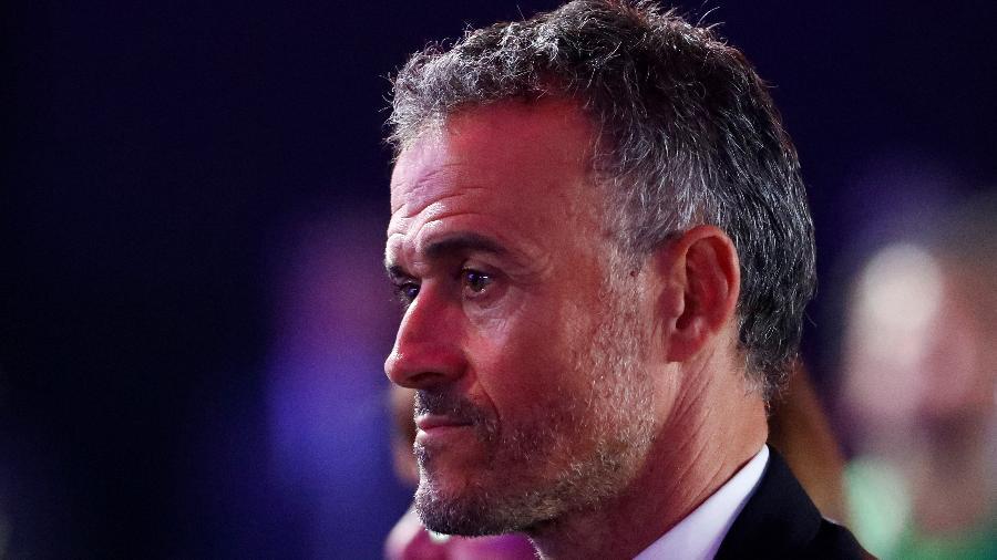 Técnico da seleção espanhola, Luis Enrique - KAI PFAFFENBACH