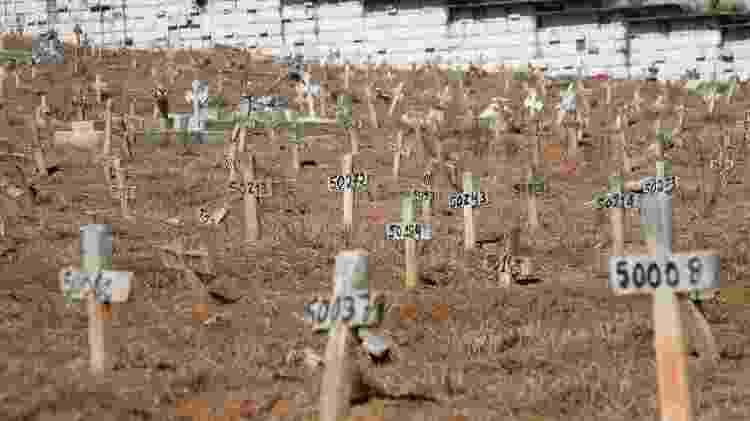 Cemitério no Rio - Ellan Lustosa/Código19/Estadão Conteúdo - Ellan Lustosa/Código19/Estadão Conteúdo
