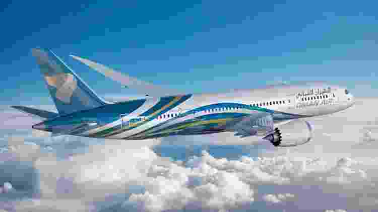 Oman Air - Divulgação - Divulgação