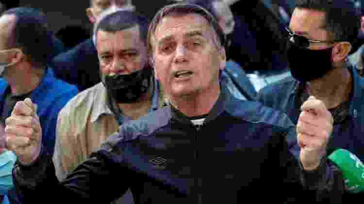 Bolsonaro acusa Ramos de ser o responsável pelo fundão de R$ 5,7 bilhão, enquanto o deputado diz que valor foi acordado por líderes do governo sem sua participação - EPA - EPA