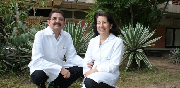 O casal Djalma Marques e Fátima Fonseca criou um repelente à base de plantas, que foi aprovado pela Anvisa