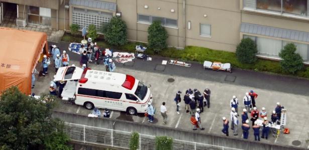 Homem armado com uma faca matou 19 pessoas e deixou várias feridas em clínica