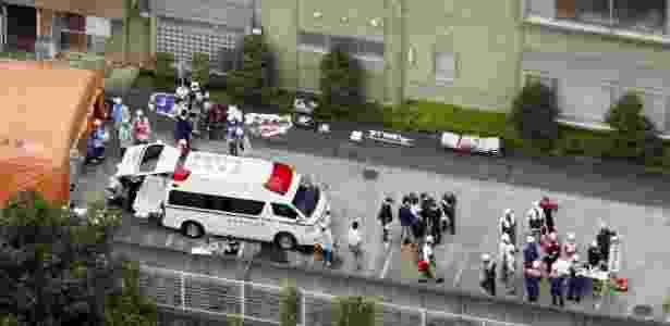 Homem armado com uma faca matou 19 pessoas e deixou várias feridas em clínica - Kyodo via Reuters