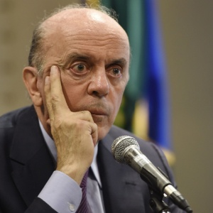 O chefe do Itamaraty é o ministro José Serra