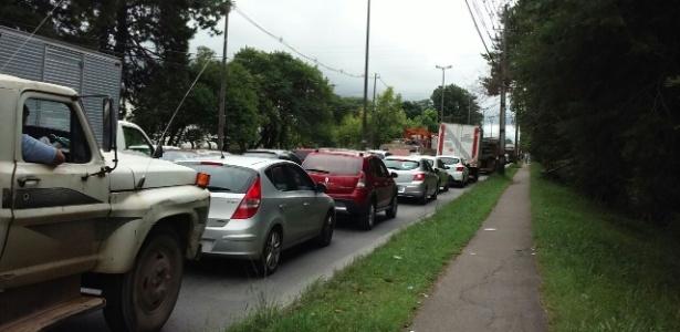 Curitiba está sem ônibus nesta quarta-feira - Leonardo Bermúdez/Arquivo pessoal