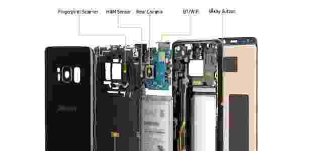 3 - por dentro do Samsung Galaxy S8 - Divulgação - Divulgação