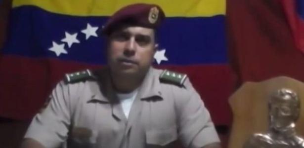 Juan Caguaripano divulgou vídeo em 2014 no qual protestou contra o governo de Nicolás Maduro