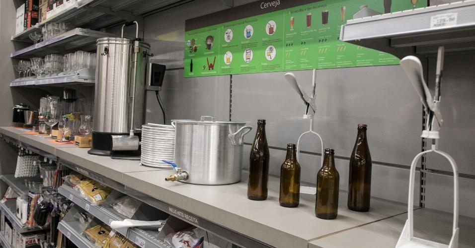 Kit para cerveja artesanal da Zôdio