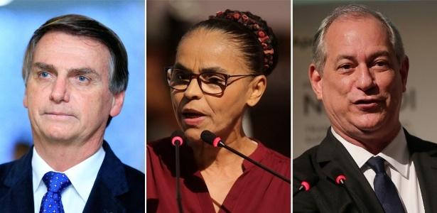 Resultado de imagem para Sem Lula, Bolsonaro lidera e empataria com Marina no 2º turno, aponta pesquisa CNT