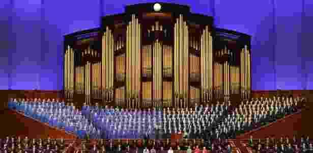 A Igreja Mórmon tem cerca de 12 milhões de membros em todo o mundo - Getty Images - Getty Images