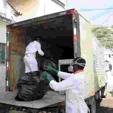 Attuale Brasil, em São Paulo, recolhe materiais contaminados e os encaminha para incineração - Divulgação - Divulgação