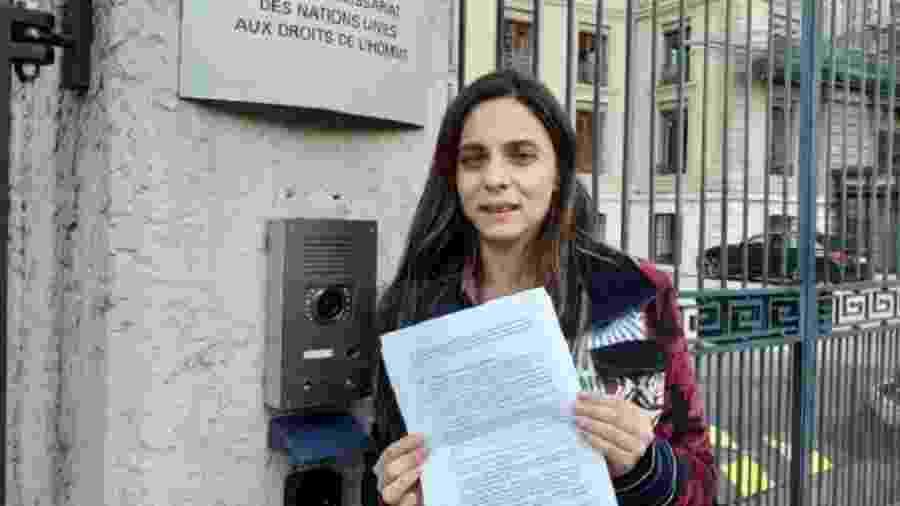 Itamaraty interrompeu discurso da deputada federal Fernanda Melchionna na ONU - Divulgação