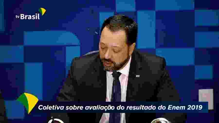 Presidente do Inep explica erros em provas do Enem - Reprodução/TV Brasil