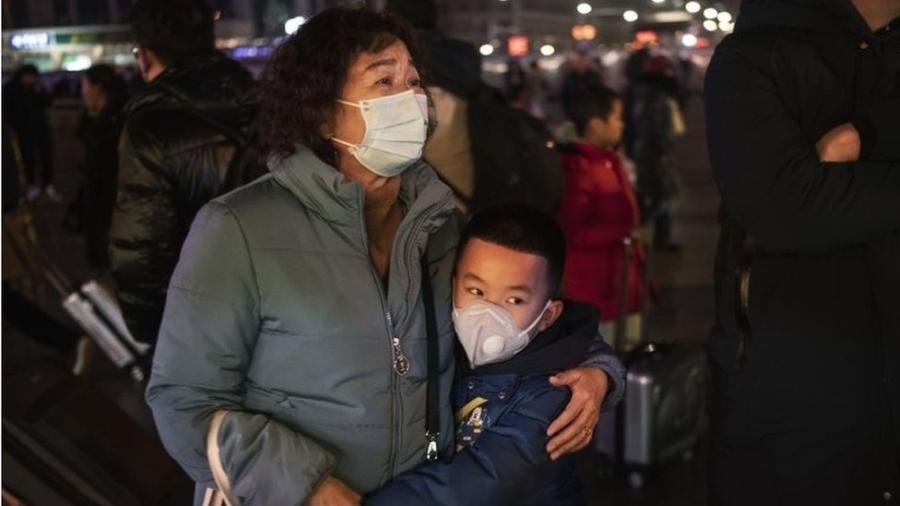 China já registra 170 mortos e 7.700 casos confirmados de pacientes infectados com o coronavírus - Getty Images