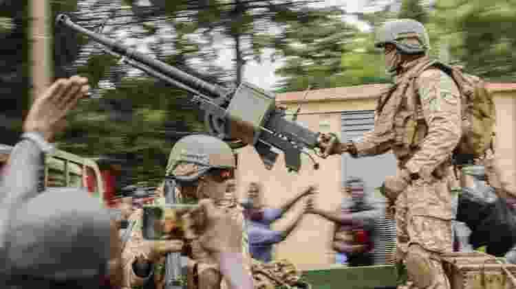 Militares golpistas no Mali - Stringer/AFP - Stringer/AFP