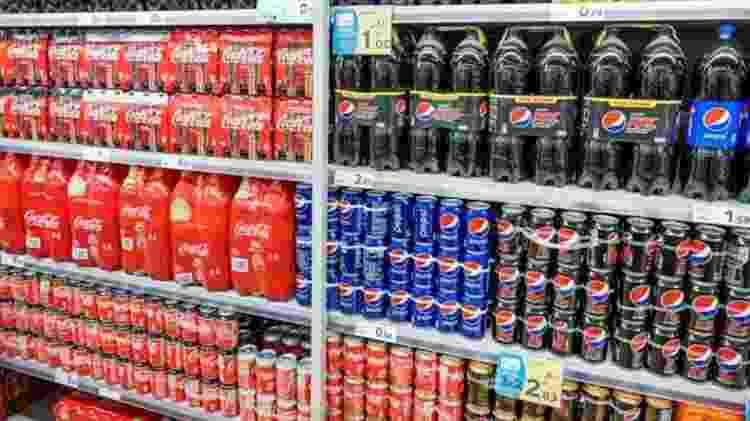 Os jovens empresários queriam competir com a Coca-Cola e a Pepsi - Getty Images - Getty Images