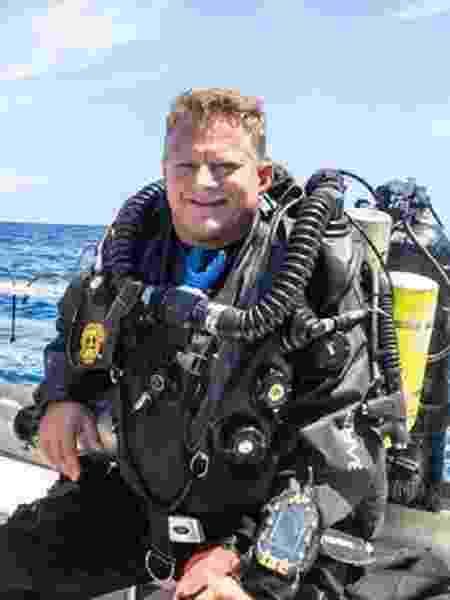 Marty Watson, da Watson Tech Training, foi um dos mergulhadores altamente especializados a entrar no Green Banana - Marty Watson - Marty Watson