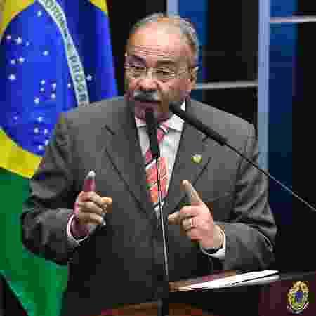 15 out. 2020 - Vaga está em aberto desde a saída do senador Chico Rodrigues (DEM-RR) (foto), flagrado pela Polícia Federal com dinheiro escondido na cueca - Marcos Oliveira/Brazilian Senate Press Office/AFP