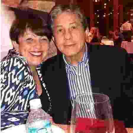 Antônio Carlos da Silva Pires, de 65 anos, e a ex-a mulher, a psicóloga, Roseneia Gomes Machado, de 61 - Reprodução/Redes sociais