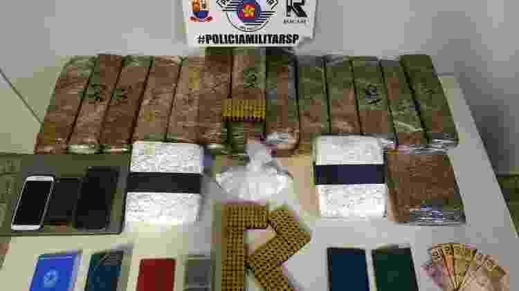 drogas - Divulgação/Polícia Militar - Divulgação/Polícia Militar