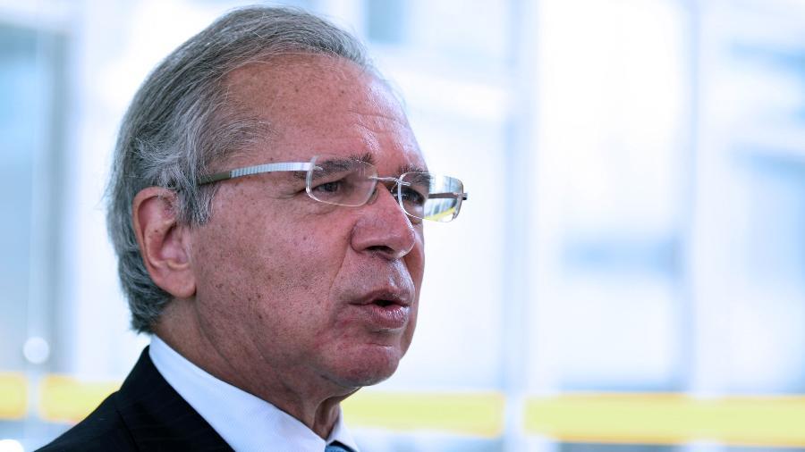 Ministro da Economia, Paulo Guedes, defendeu a estratégia do governo de fatiar a reforma tributária - Edu Andrade/Ministério da Economia