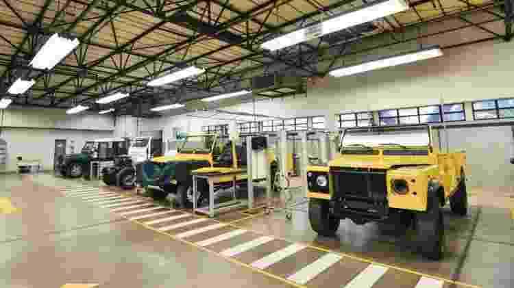Oficina restauração Land Rover - Divulgação  - Divulgação