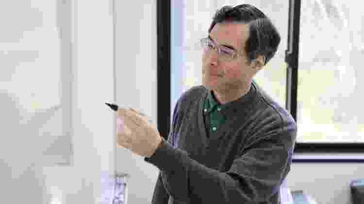 Mochizuki já era reconhecido globalmente na comunidade matemática quando publicou sua demonstração da conjectura abc em 2012 - Universidade de Kyoto / Raymond Terhune - Universidade de Kyoto / Raymond Terhune