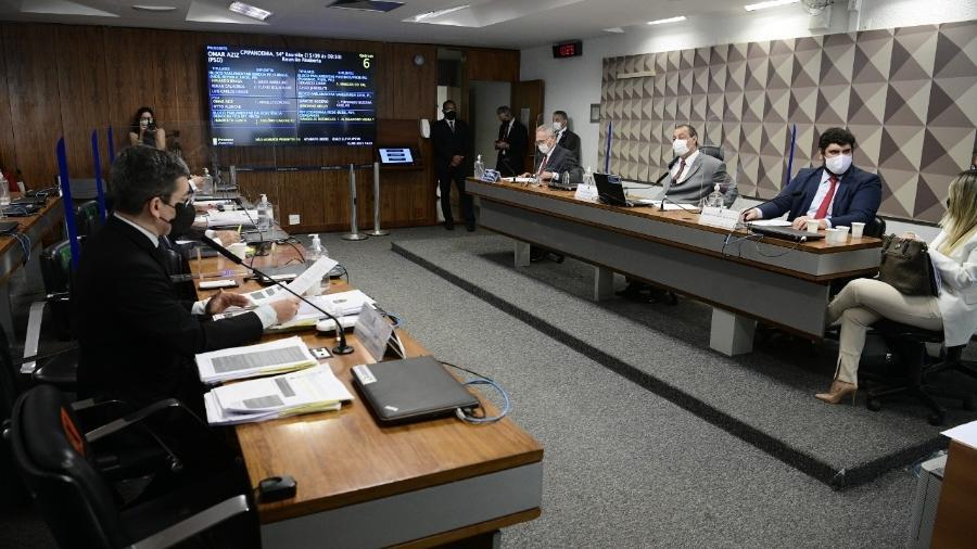 CPI da Covid entra na reta final de depoimentos, pois Renan Calheiros (MDB-AL) pretende entregar relatório até o fim do mês - Pedro França/Agência Senado