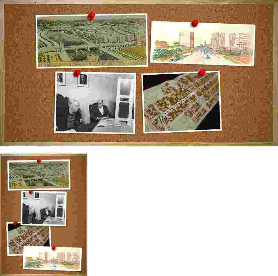 Entre os projetos para a cidade de São Paulo que não saíram do papel, há trabalhos de Prestes Maia, Oscar Niemeyer e Vilanova Artigas - Arte/UOL