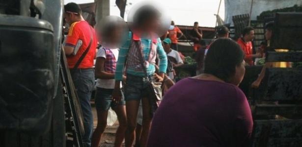 A polícia local afirma que menores se prostituem na região central de Maracaibo