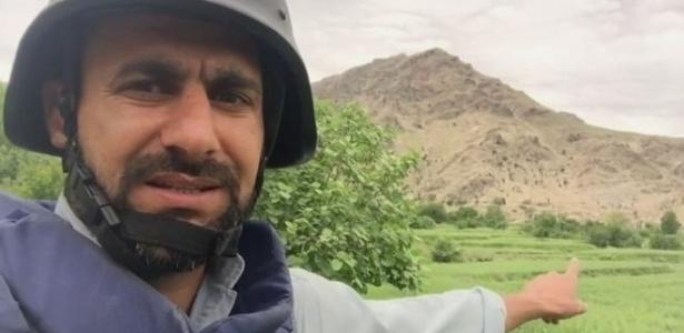 Repórter Auliya Atrafi foi ao local de queda de bomba lançada pela gestão Donald Trump contra Estado Islâmico no Afeganistão