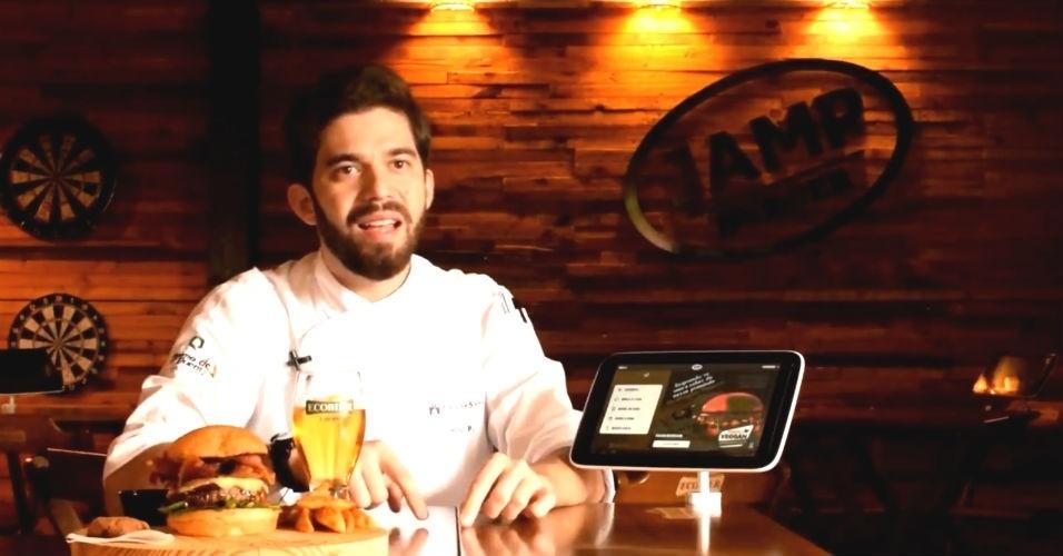 Empresário e chef Primo Pedro, dono do Jamp Burger