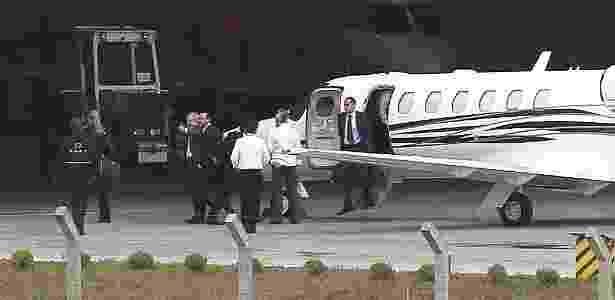 Lula desembarca em Curitiba para depor a Moro - Reuters