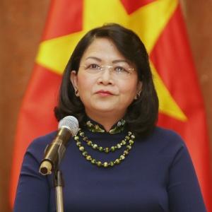 Dang Thi Ngoc assume a presidência do Vietnã interinamente - Luong Thai Linh/EFE/EPA