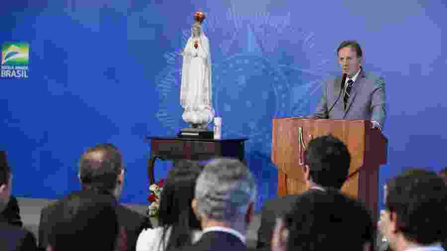 Cerimônia de Consagração do Brasil a Jesus Cristo por Meio do Imaculado Coração de Maria, em Brasília - Marcos Corrêa/PR