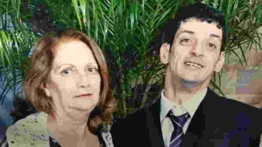 Leonardo Mello e a mãe, Ruth Valderez - Arquivo pessoal