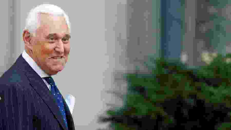 Roger Stone, ex-assessor do presidente americano, Donald Trump - Yara Nardi/Reuters