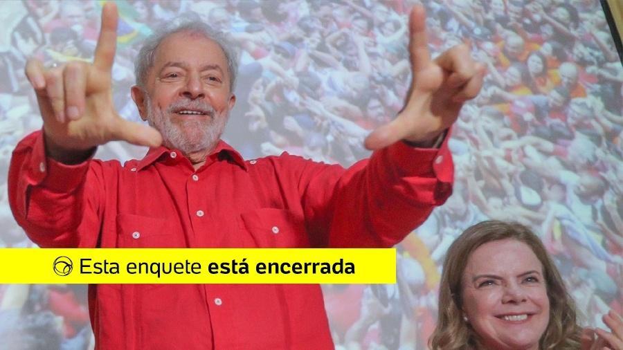 Enquete Lula - RICARDO STUCKERT/UOL