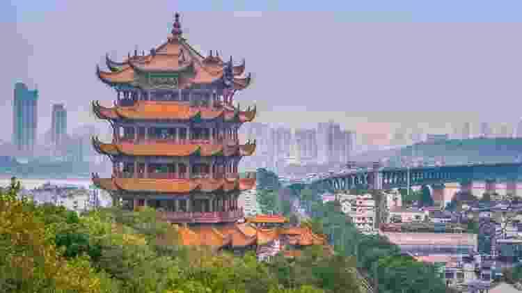 Wuhan, na China central, tem 59 pessoas infectadas — sete em situação crítica - Getty Images - Getty Images