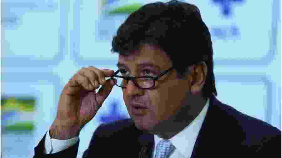 Ministro da Saúde, Luiz Henrique Mandetta, diz vale a regra do bom senso na primeira etapa da chegada da doença ao Brasil - Jose Cruz/Agencia Brasil
