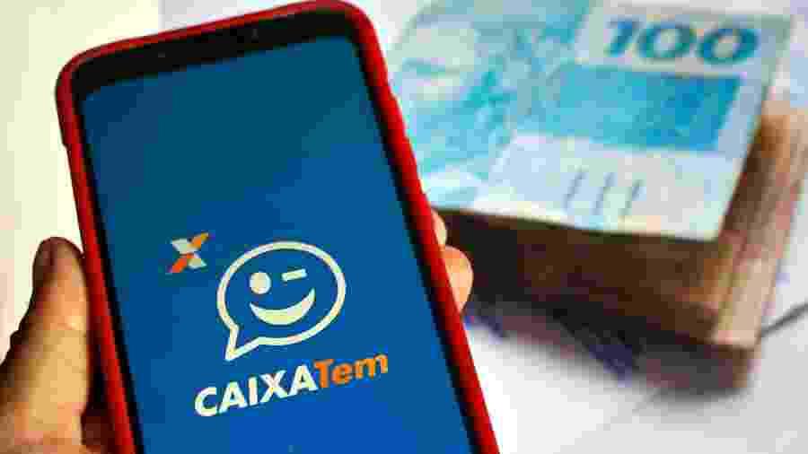 Pagamento do auxílio emergencial é feito pelo app Caixa Tem - Adriana Toffetti - 17.abr.2020/A7 Press/Estadão Conteúdo