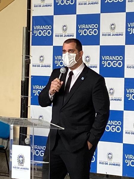 Lucas Tristão, secretário de Desenvolvimento Econômico do Rio - Caio Blois/UOL
