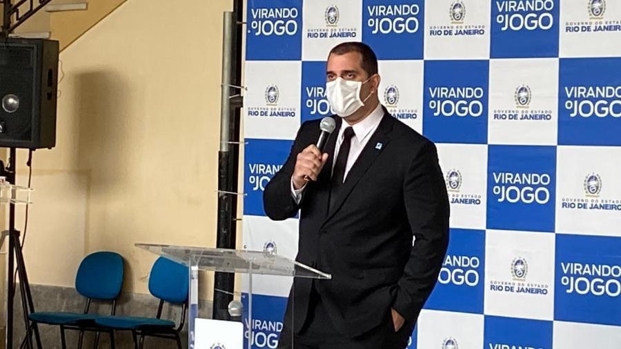 Lucas Tristão, secretário de desenvolvimento econômico do Rio de Janeiro - Caio Blois/UOL