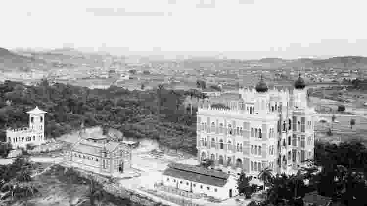 Castelo de Manguinhos e arredores da Fiocruz - Acervo Casa de Oswaldo Cruz - Acervo Casa de Oswaldo Cruz