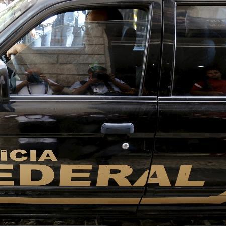 Imagem de arquivo - Policiais federais cumprem mandados de busca e apreensão em três municípios do Grande Rio - Reuters