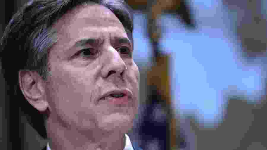 Antony Blinken é conselheiro de longa data de Biden - Mandel Ngan/AFP