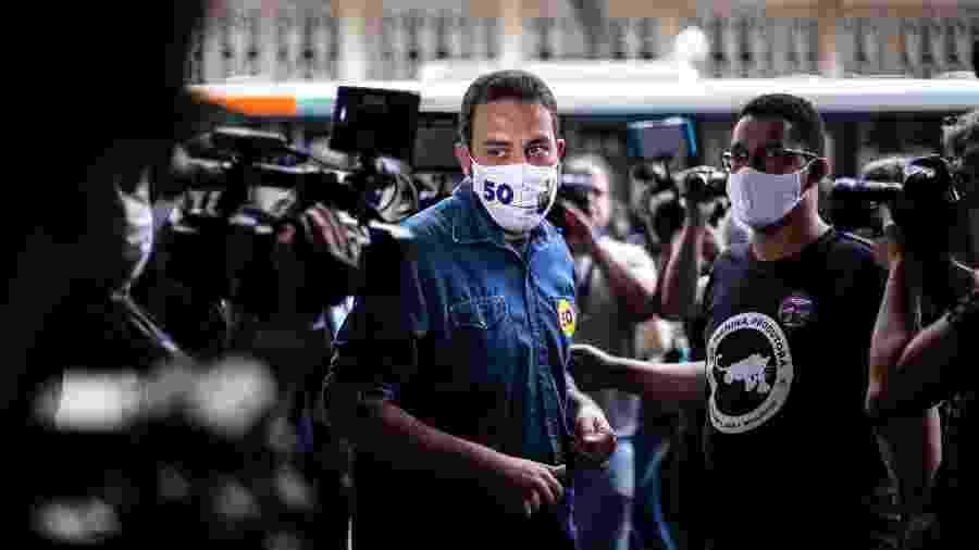 """Guilherme Boulos (PSOL) disse que a Venezuela """"não é um exemplo de democracia"""" - WERTHER SANTANA/ESTADÃO CONTEÚDO"""