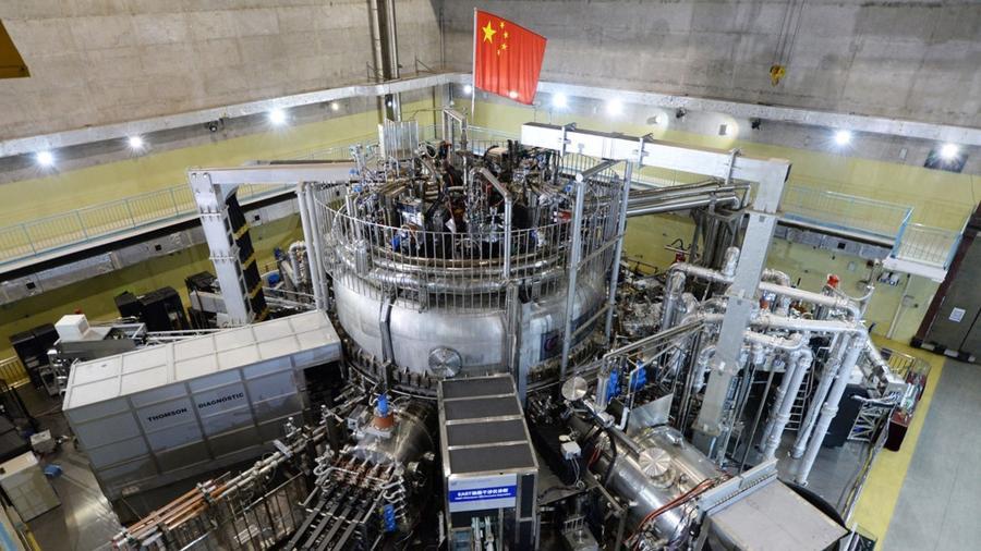 HL 2ª Tokamak, reator chinês de fusão nuclear chinês - Reprodução/Xinhua