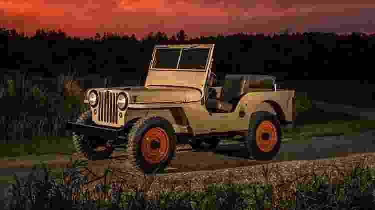 Jeep CJ-2A - Divulgação  - Divulgação